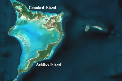 Crooked & Acklins Islands> Bahamas> Îles Caraïbes >> CROOKED & ACKLINS