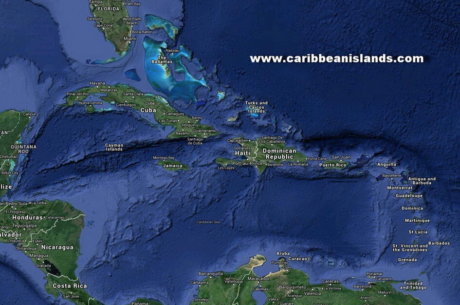CARIBBEAN ISLANDS GEOGRAPHY AND CLIMATE