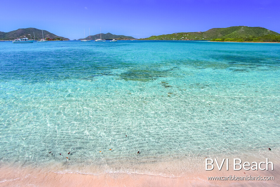 British Virgin Islands beach