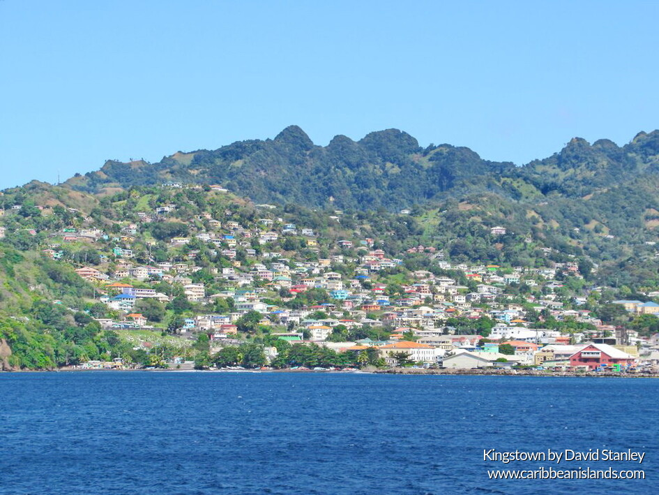 Kingstown, capital of Saint Vicent