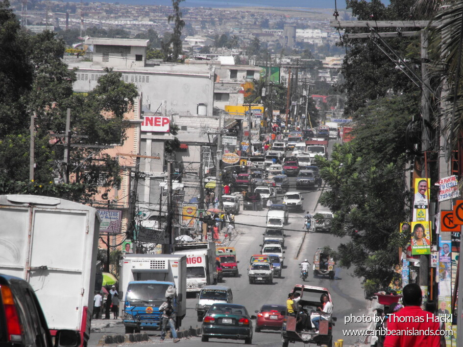 Delmas street at Port-au-Prince