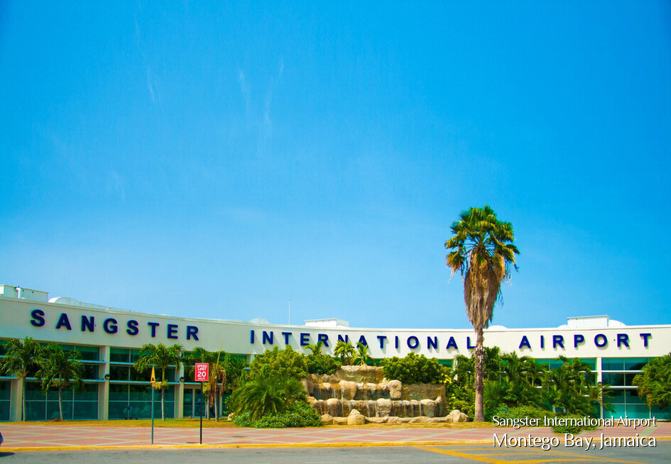 Sangster International Airport, Montego Bay, Jamaica
