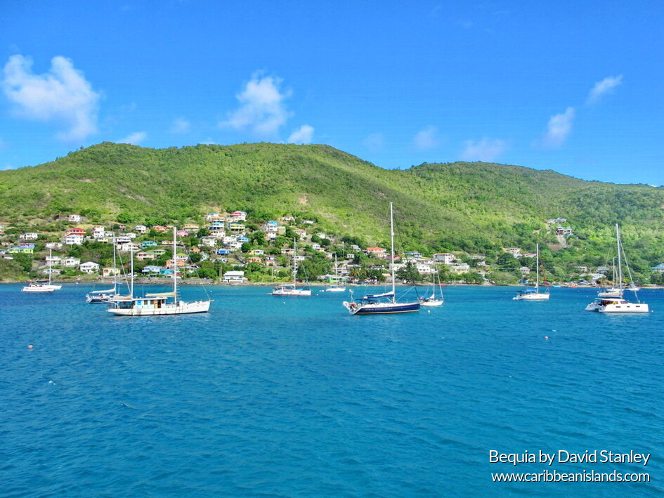 Admiral Bay at Port Elizabeth, Bequia island