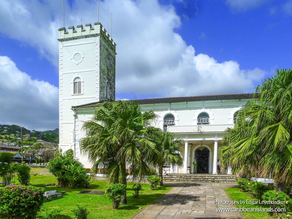 St George's Anglican Cathedral, Kingstown - St. Vicent & the Grenadines