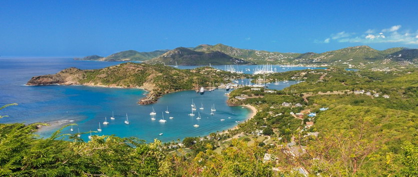 Antigua English Harbour, Caribbean