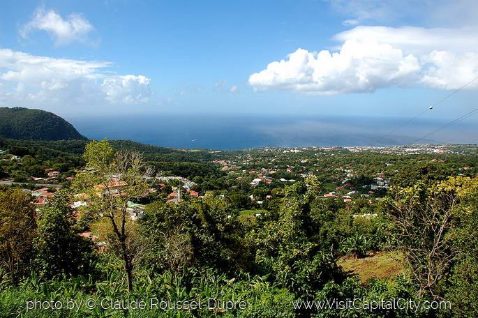 View of Basse-Terre