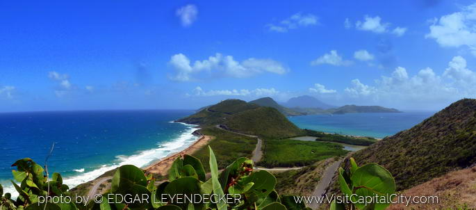 Southern view of St. Kitts