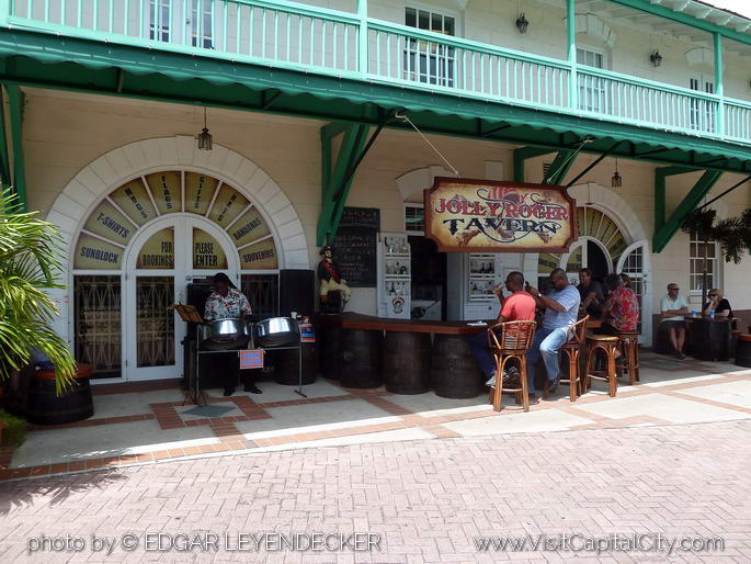 bar on dockside Bridgetown