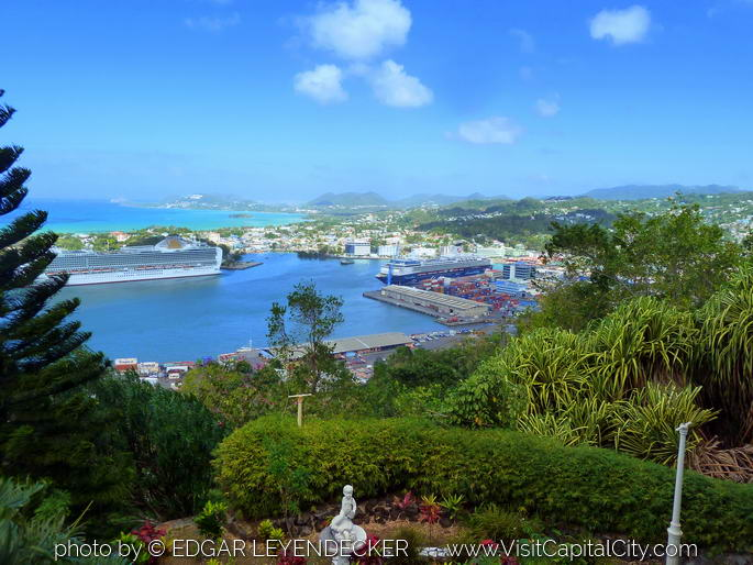 View of the Port of Castries
