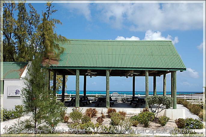 tipical porch at Grand Turk
