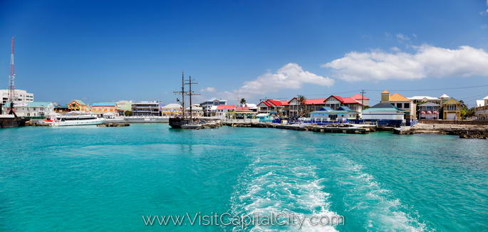 George Town waterfront, Cayman Islands