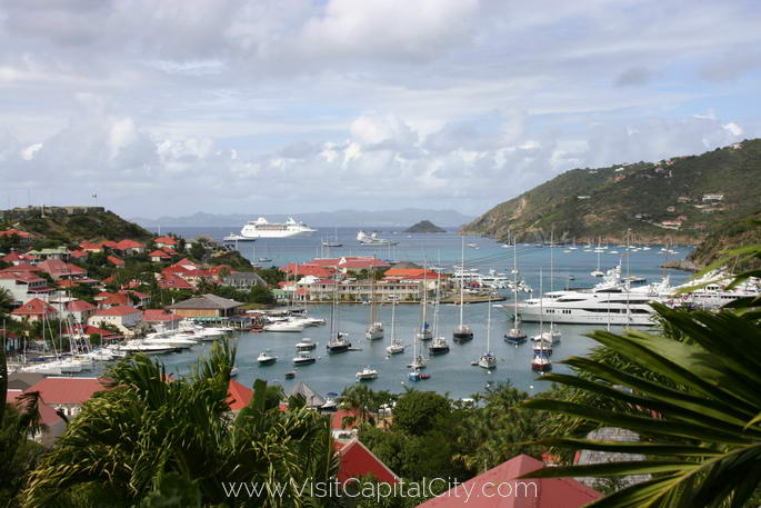 Gustavia, capital city of Saint Barthélemy
