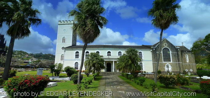 Saint George's Anglican Cathedral in Kingstown