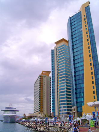 International Waterfront Center, Port of Spain