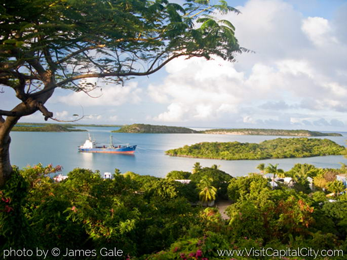 View from Seatons, Antigua