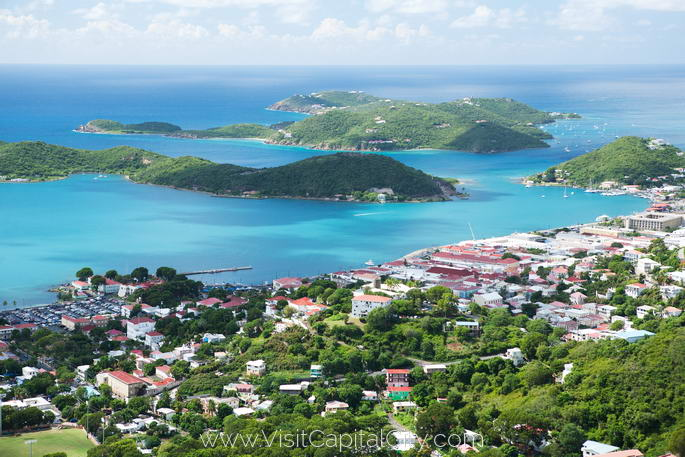 Charlotte Amalie, capital city of United States Virgin Islands