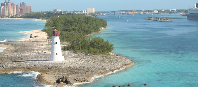 Nassau, capital city of Bahamas