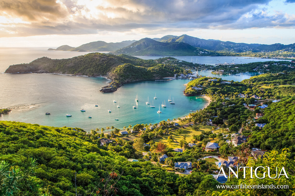 Tramonto a English Harbour Antigua