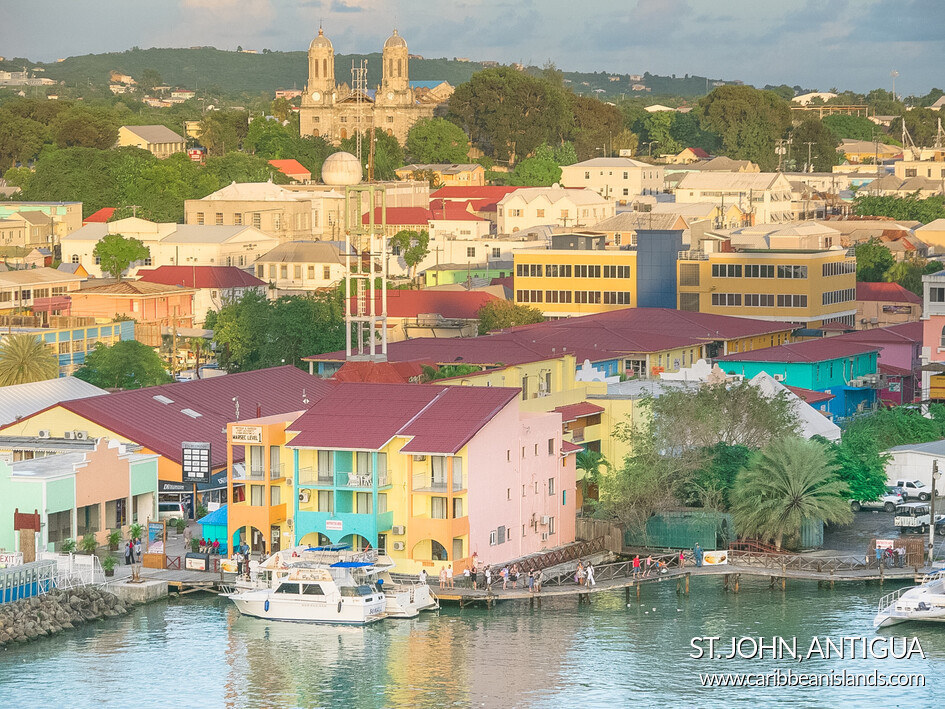 Skyline di Saint John Antigua