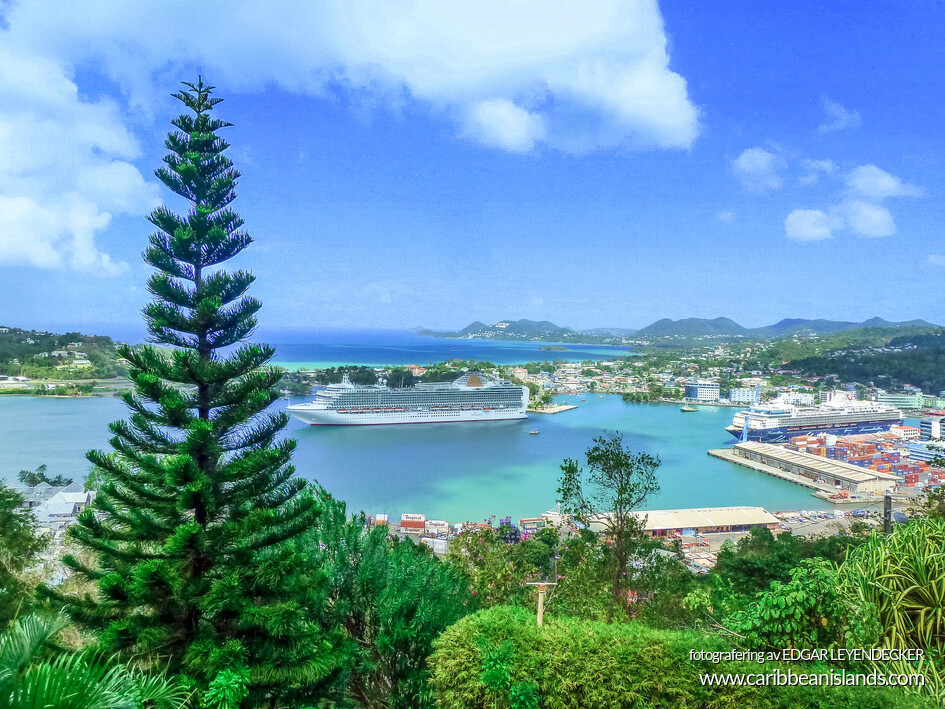 Port of Castries St Lucia