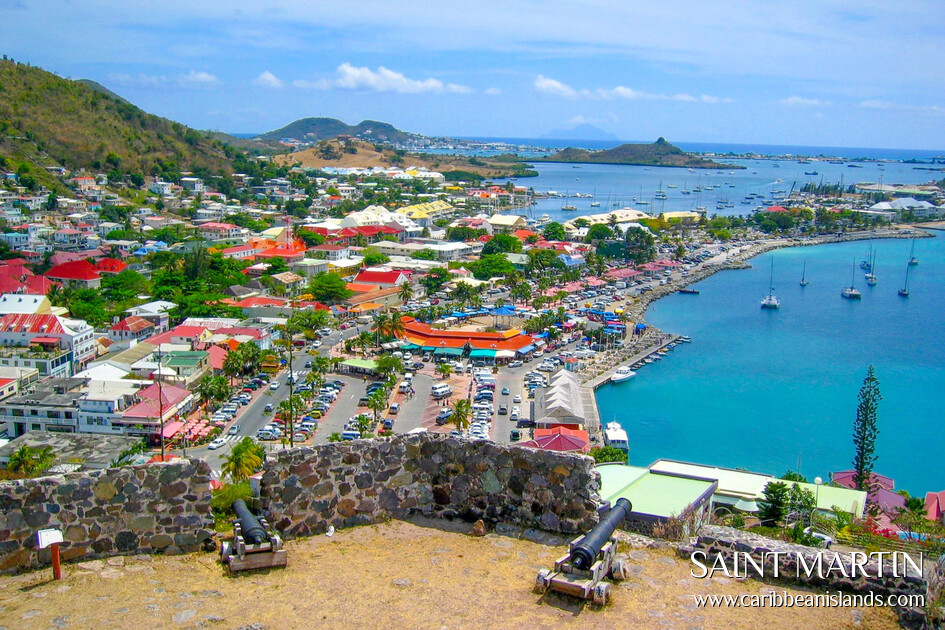 St Maarten Island Location